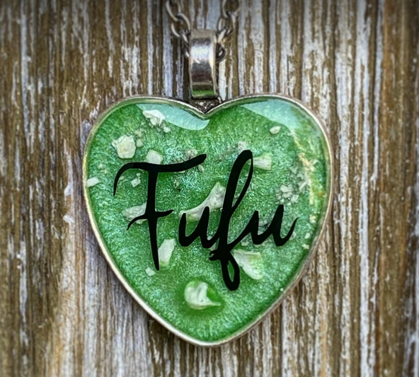 Heart Pendant with Cremains