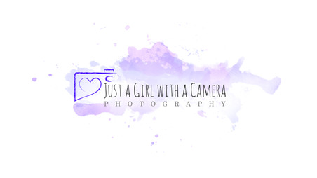Just a Girl with a Camera Photography Logo