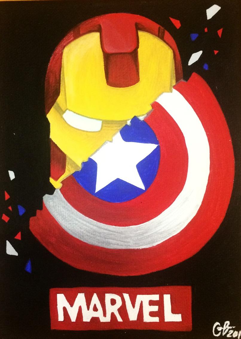 Cap Vs. Iron Man