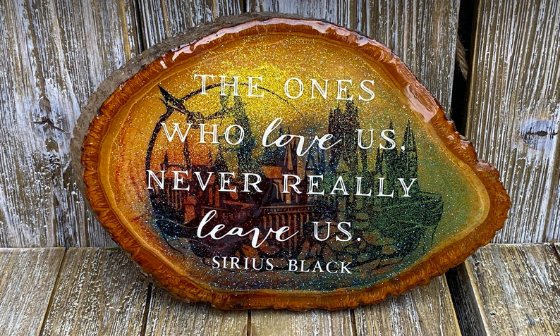 The Ones Who Love Us Never Really Leave Us.