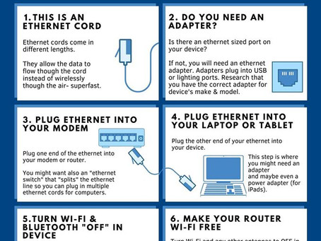 How to Hardwire Your Laptop or Tablet