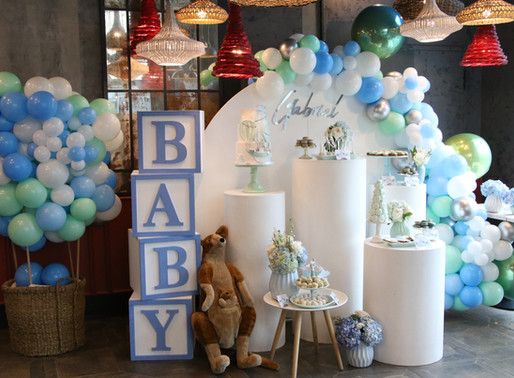 Baby Shower de menino | Balloon Safari