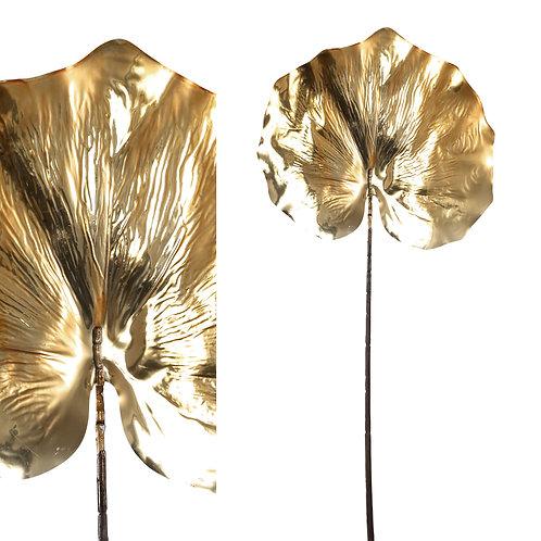 Pata - de - cavalo Decorativa em Dourado