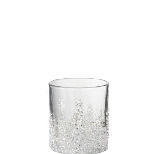 Porta Velas - Sugar Bottom Glass