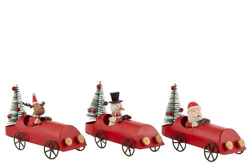 Carro de Natal Decorativo