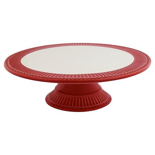 Cake Stand Vermelho e Branco
