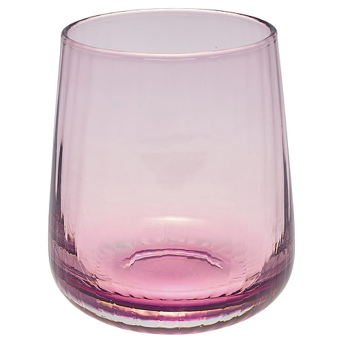 Copo de água lilás