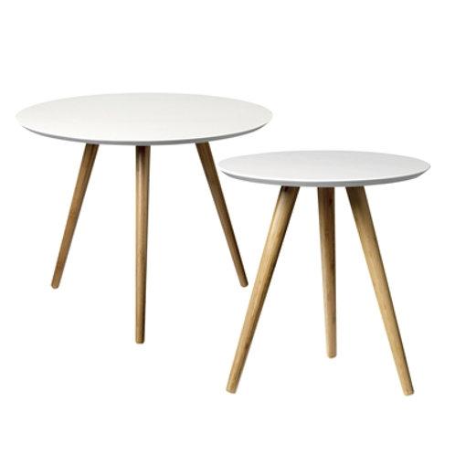 Mesas brancas Wood