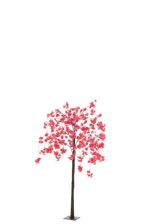 Árvore Florida Rosa