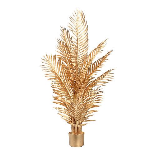 Folhas de Palmeira Douradas