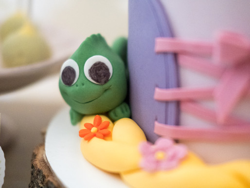 Aniversário de menina   Festa da Rapunzel