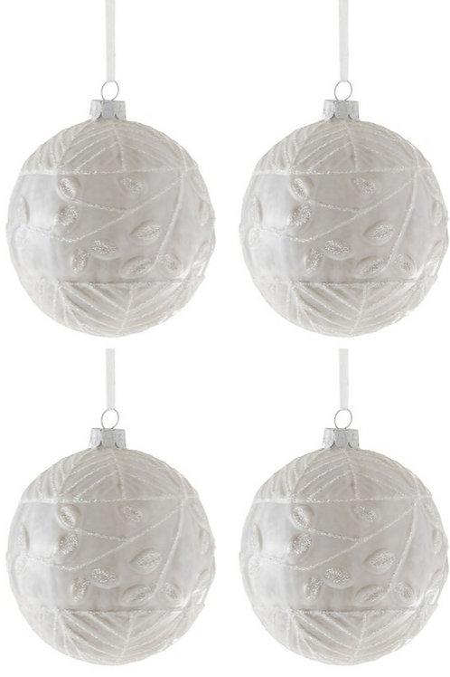 Conjunto 4 Bolas de Natal