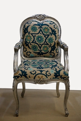 Silver Louis Chair