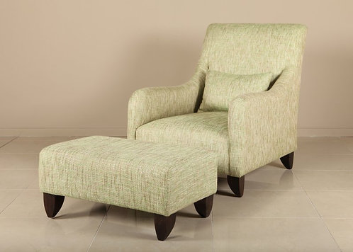 Siesta Chair with Ottoman