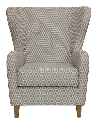 Retro Wingback Chair
