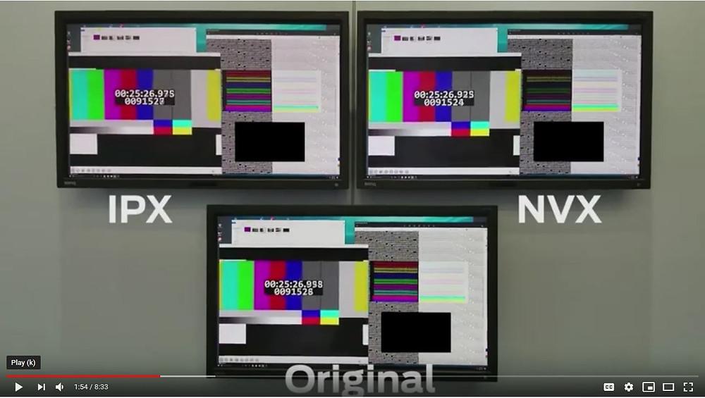 Aurora's comparison of codecs using suitable content