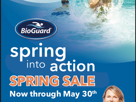 Spring Sale-now through May 30