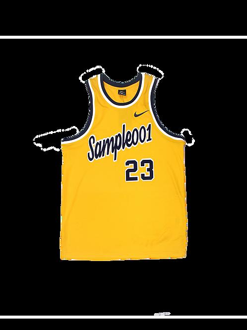 Sample 001 Away Basketball Jersey
