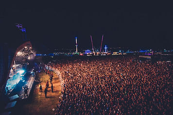 Fairground at Boardmasters Music Festival