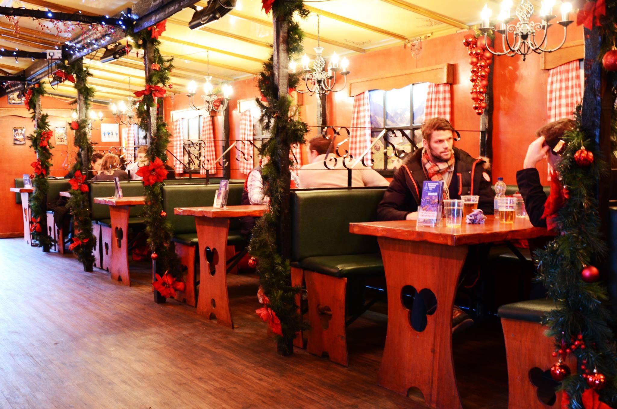 Bavarian Christmas Moose Bar
