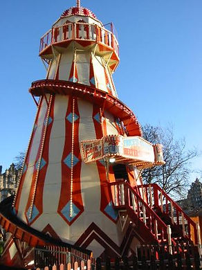 Traditional Lighthouse Helter Skelter for hire