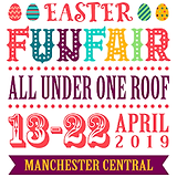 Easter Funfair Manchester Central 2019