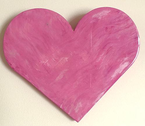 """Pink-ish"" mini heart"