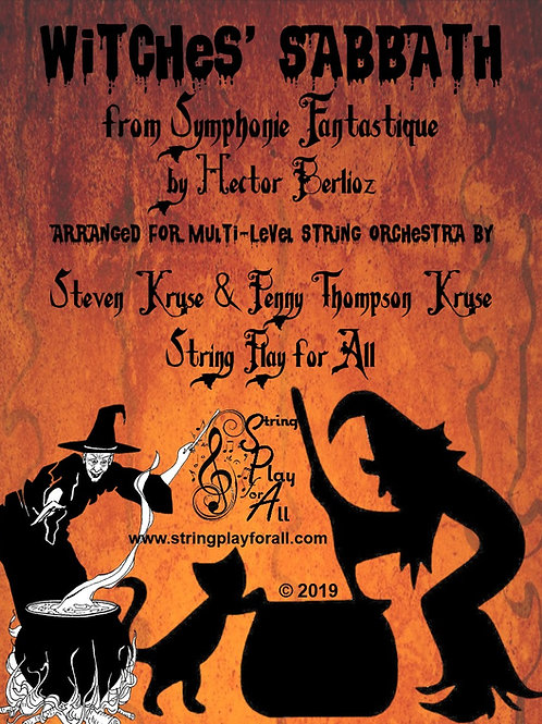 Witches' Sabbath for Multi-Level String Orchestra