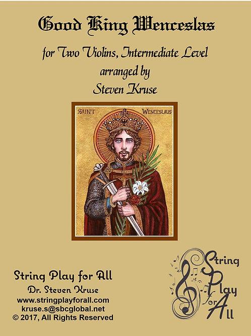 Good King Wenceslas, for Two Violins