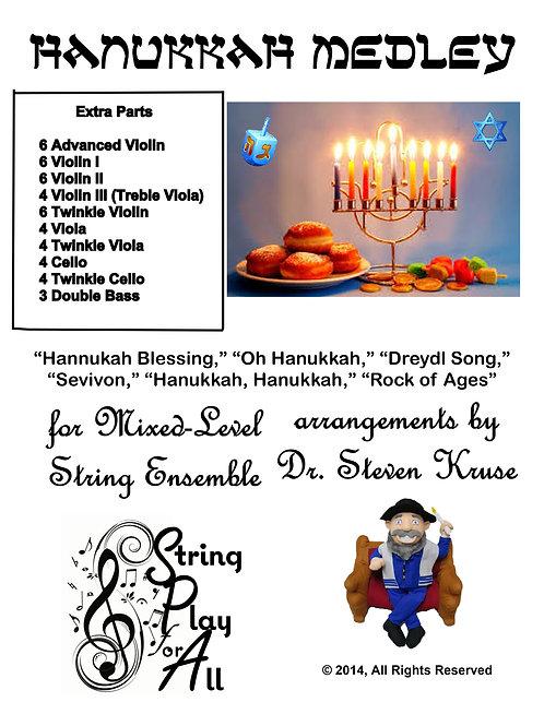 Hanukkah Medley, Extra Parts