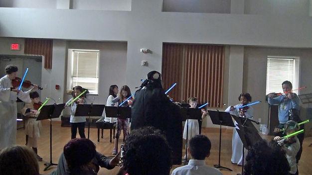 Toledo School of Music Performance of Star Wars