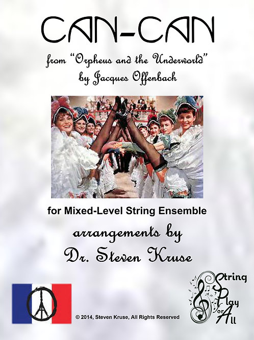 Can-Can for Mixed-Level String Ensemble