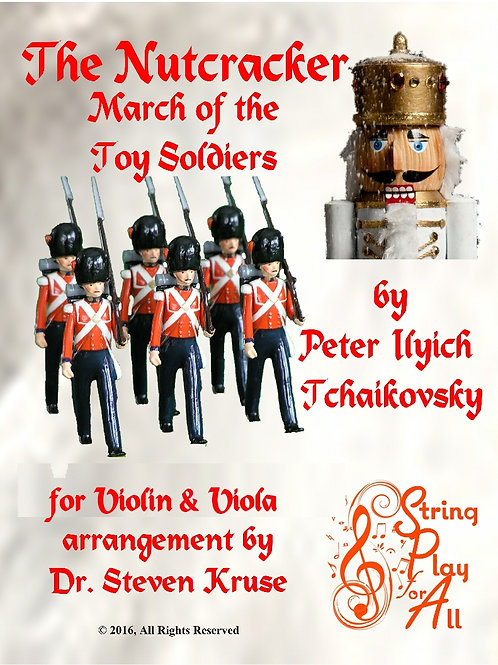 "March of the Toy Soldiers from ""Nutcracker"" for Violin & Viola"