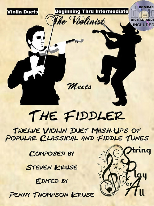The Violinist Meets the Fiddler, with audio CD