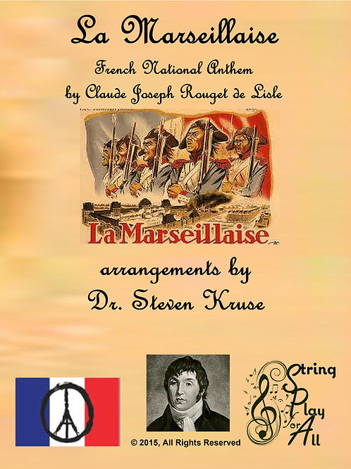 La Marseillaise (French National Anthem) for Mixed-Level String Ensemble