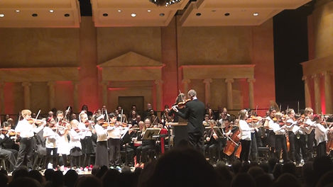 Toledo School of Music with Toledo Symphony performing String Play for All arrangement of Hallelujah Chorus