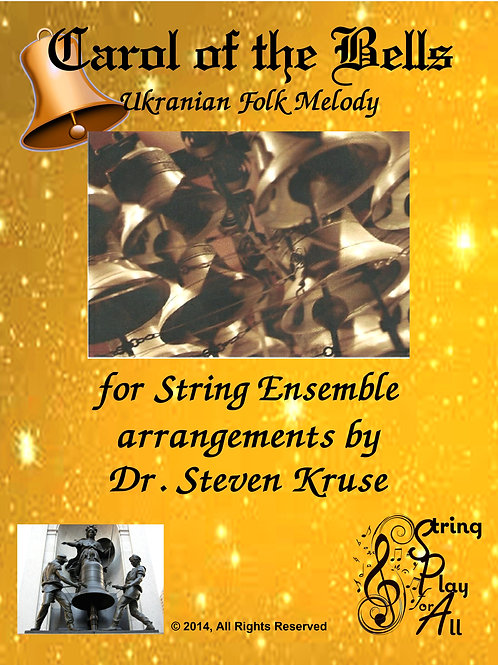 Carol of the Bells for Mixed-Level String Ensemble