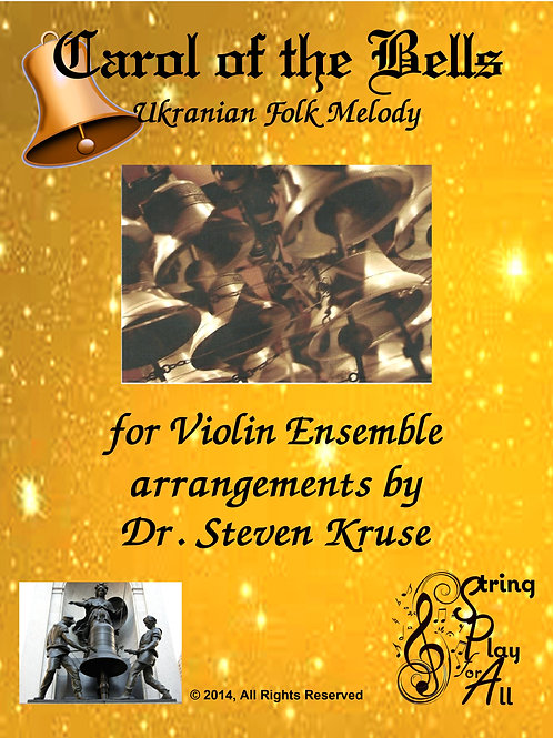 Carol of the Bells for Mixed-Level Violin Ensemble