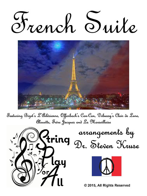 French Suite for Mixed-Level String Ensemble