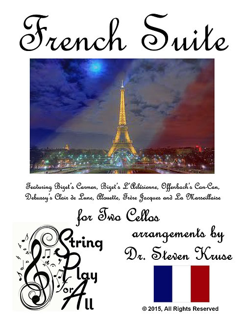 French Suite for Two Cellos