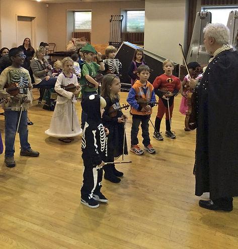 Toledo School of Music Halloween Concert