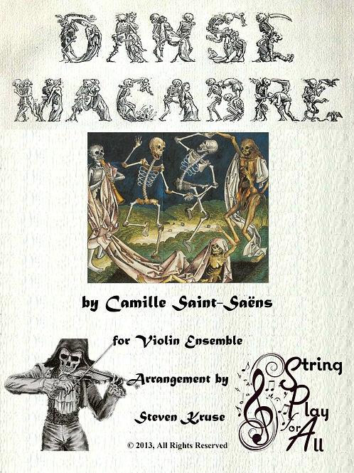 Danse Macabre for Mixed-Level Violin Ensemble