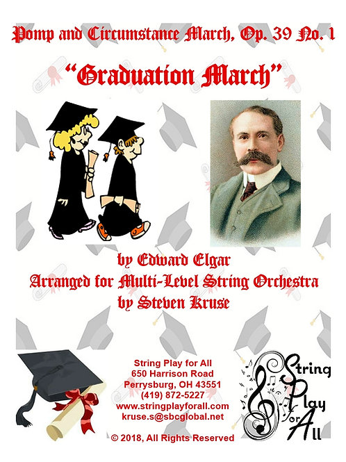 Pomp and Circumstance March for Multi-Level String Orchestra