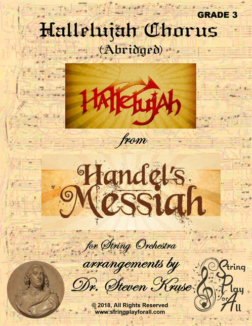 Hallelujah Chorus from the Messiah for String Orchestra