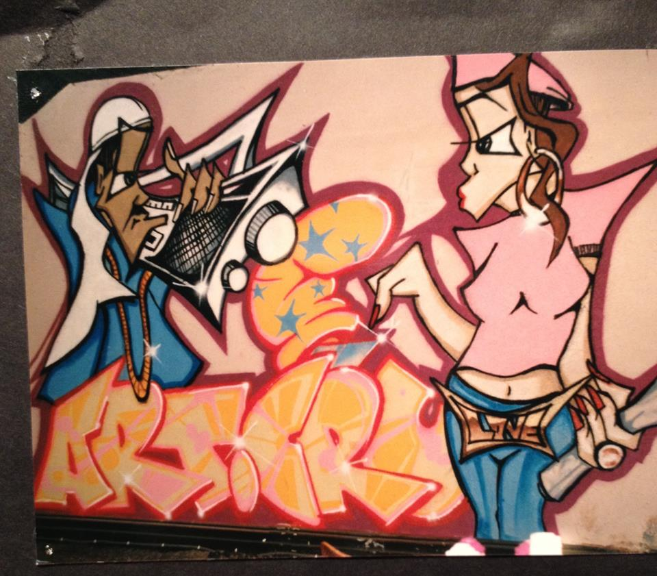 Shine159 graffiti 1