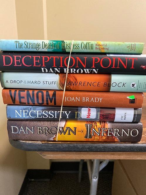 Mixed Fiction - incl. Dan Brown