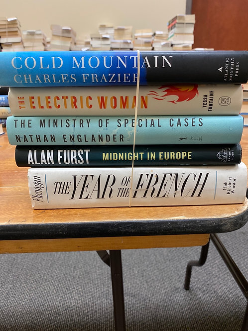 Fiction - Frazier, Furst, Flanagan, Fontaine, Englander