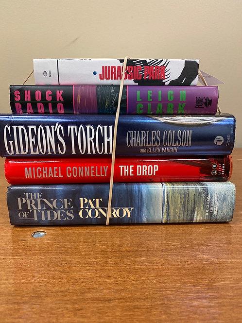 Fiction - Crichton, Colson, Connelly, Conroy, Clark