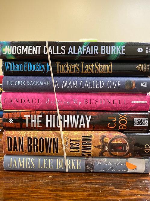 Fiction - Burke, Brown, Bushnell, Buckley Jr., Backman