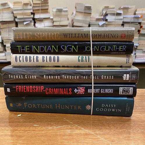 Fiction - Goodwin, Glinski, Golding, Givon, Gray, Gunther